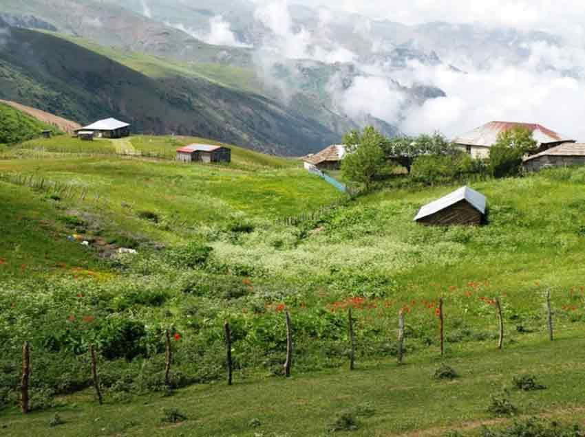 رویایی ترین مکان های ایران در تابستان