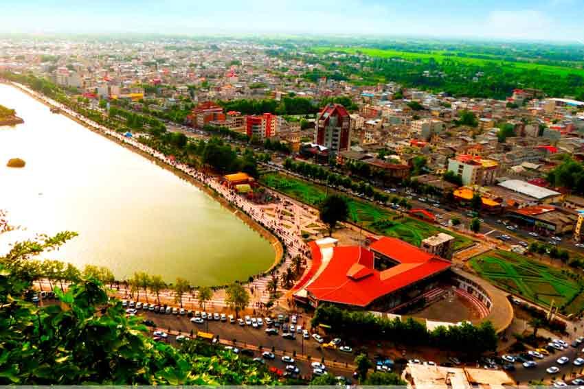 زیباترین شهرهای ایران