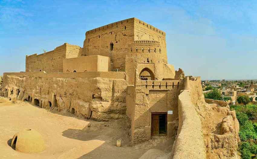 نارین قلعه یزد به همراه عکس و آدرس