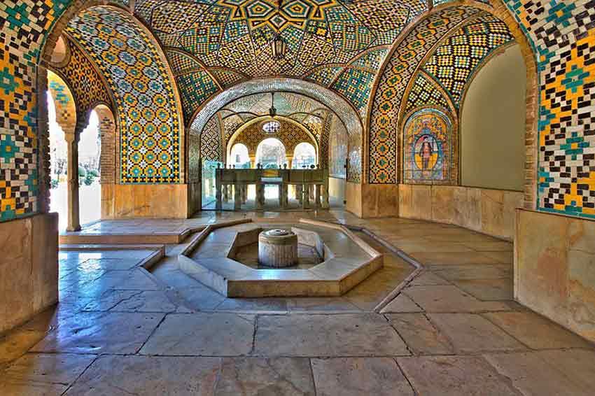 کاخ گلستان همراه با عکس و آدرس