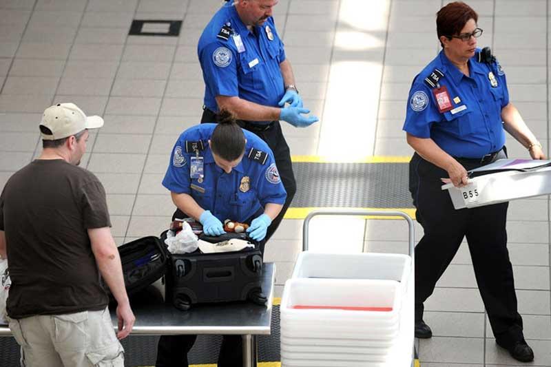 وسایل ممنوعه در ورود به هواپیما