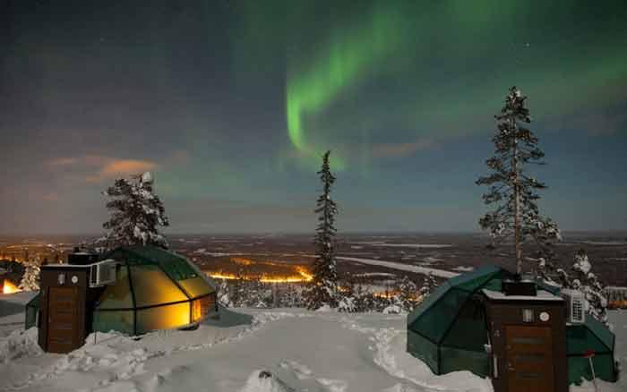 هتل گلدن کراون لوین اگلوت، لوی، فنلاند