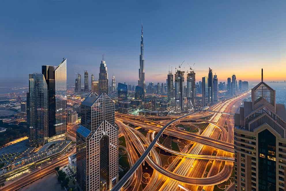 شهرهای مهم امارات متحده عربی
