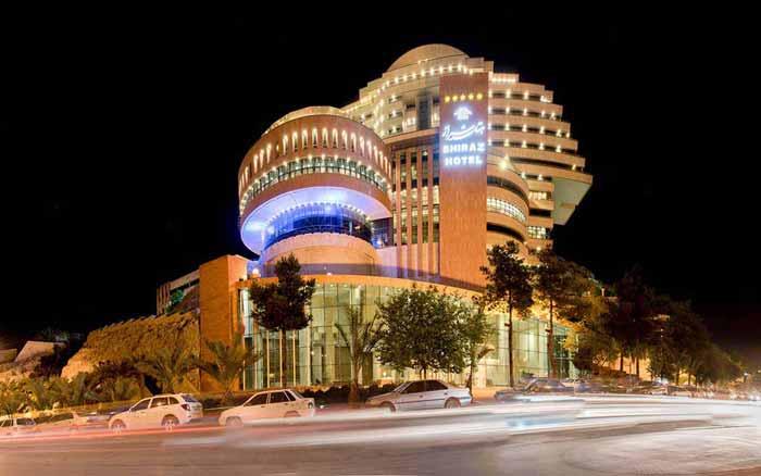 هتل های شیراز به همراه آدرس و شماره تلفن
