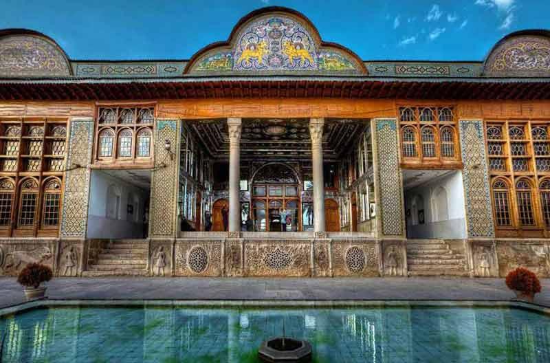 باغ نارنجستان قوام به همراه عکس و آدرس