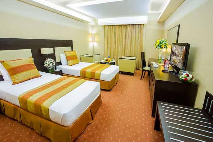 اتاق استاندارد دو نفره هتل اوین