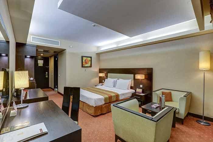 اتاق استاندارد یک نفره هتل اوین
