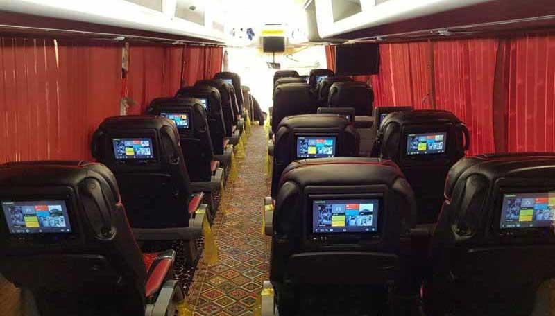 اتوبوس های وی آی پی VIP در مقایسه با اتوبوس های معمولی
