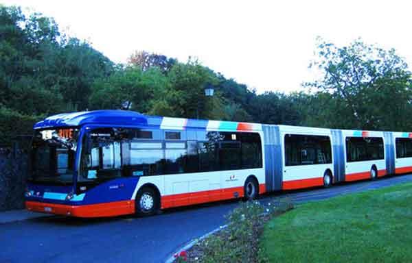 بلندترین اتوبوس دنیا