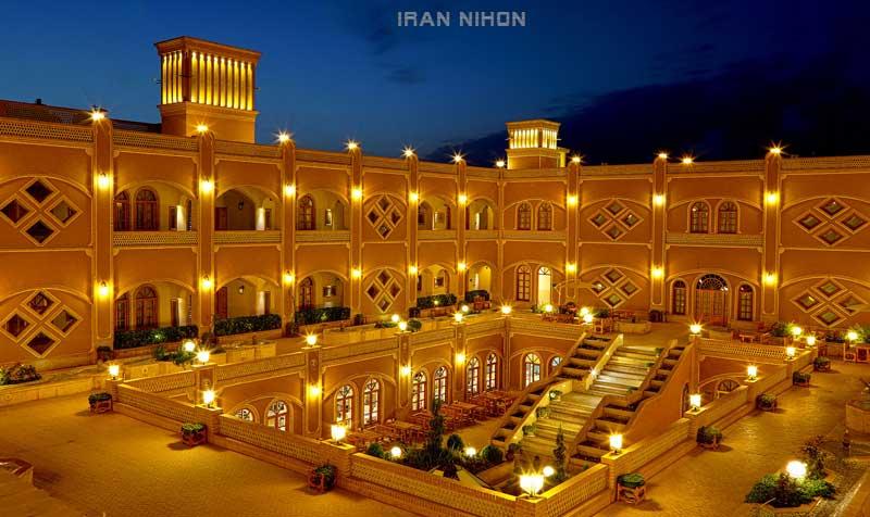 لیست هتل های یزد