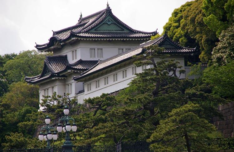 ژاپن کاخ امپراتوری توکیو , نمادی از حفظ سنت ها